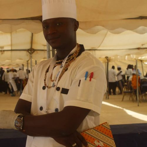 Chef Jacques Mendy